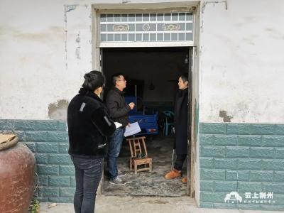 荆州区八岭山镇开展农村住房安全检查