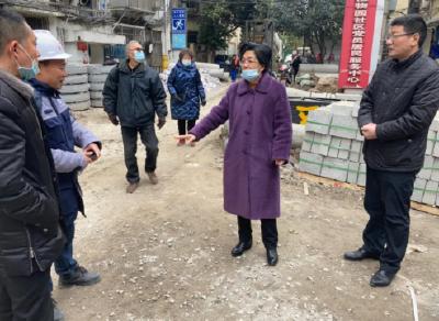 云上沙市区 | 区委书记刘辉萍调研老旧小区改造工作