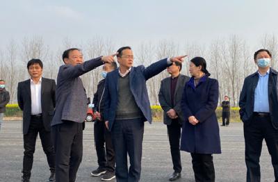 吴朝安调研荆州理工职业学院整体迁建项目