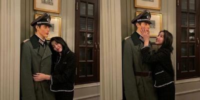 """与""""纳粹模特""""合影还做出暧昧表情,韩流女星""""素媛""""被猛烈声讨!"""
