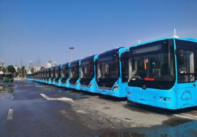 好消息!荆州城区新增82辆纯电动公交车