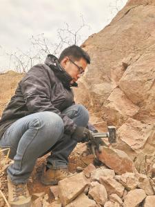 """武汉发现古生物化石""""江夏鱼"""""""
