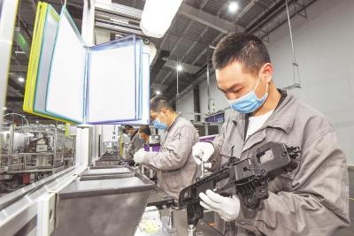 荆州工业经济持续恢复发展