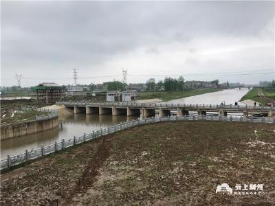 洪湖东分块蓄洪工程腰口泵站成功试运行