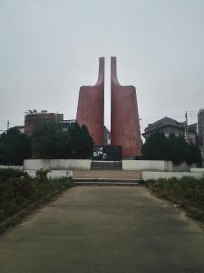 监利市:新沟嘴大捷革命纪念碑