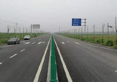 G351江陵秦市至郝穴段建成通车