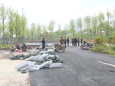 长江外滩综合整治容城段二期工程预计明年3月完工