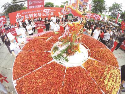 监利今年已产出小龙虾7万吨