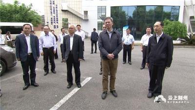 中国气象局局长庄国泰来荆调研气象为农服务工作