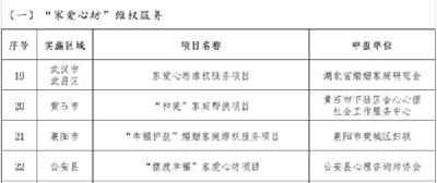 """2021年湖北""""公益木兰""""项目库公布,荆州2项目入选!"""