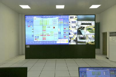 荆州区里甲口二站首次排水测试 排涝标准提升10年一遇