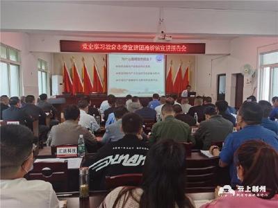 荆州开发区滩桥镇在党史学习教育中践行为民初心