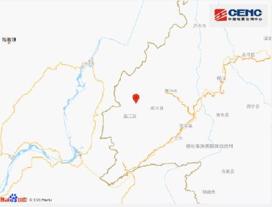 云南德宏州盈江县附近发生5.3级左右地震