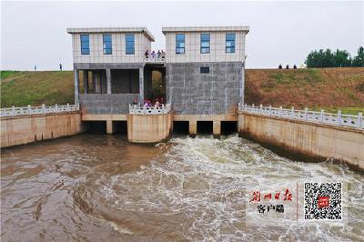 柳港泵站试运行 菱角湖防洪排捞能力大幅提升