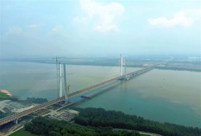 最新进展!洪湖赤壁长江公路大桥通过交工验收