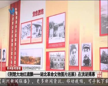 《荆楚大地红旗飘——湖北革命文物图片巡展》 在洪湖揭幕