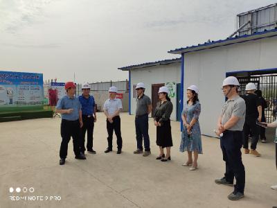 湖北省发改委调研荆州高新区项目建设工作