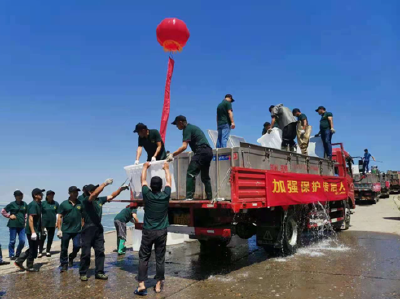 湖北省渔业资源同步增殖放流活动在荆州举行