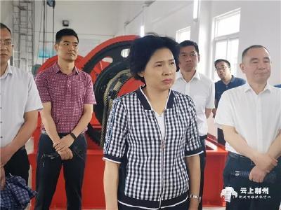 周志红:做实做细各项防汛备汛工作 确保安全度汛