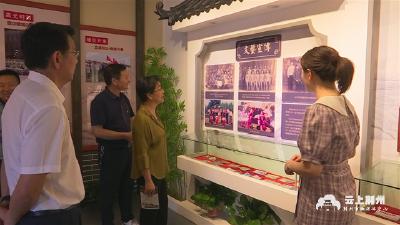 刘辉萍到纪南文旅区开展安全生产检查并调研党建工作