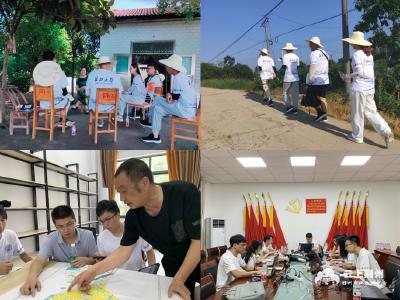 """长江大学城建学院""""三下乡""""实践活动在纪南镇圆满结束"""