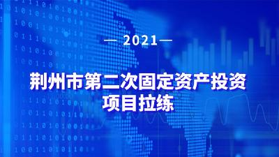 云上荆州直播 2021年荆州市第二次固定资产投资项目拉练