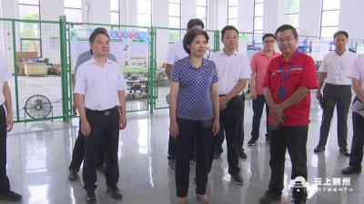 周志红赴荆州高新区调研区域中心城市和现代产业体系建设
