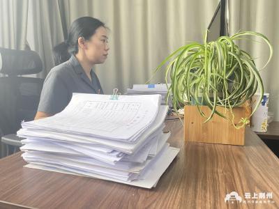 2021年荆州市最美政法干警 | 张艳丽:捍卫公平正义,留住世间温情