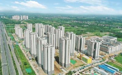 荆州太晖还建小区主体工程全面竣工