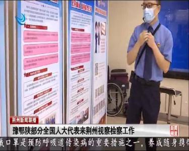 豫鄂陕部分全国人大代表来荆州视察检察工作