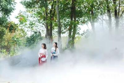 景区也能玩剧本杀?今年国庆楚王车马阵带您来场江汉平原最大的剧本杀之旅!