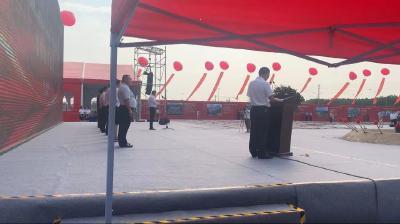 王虚谷参加荆州高新区项目开工仪式