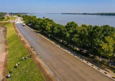全长8.1公里!荆州这条生态景观大道预计本月建成通车!