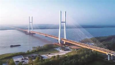 明天,赤壁长江大桥通车!连接咸宁赤壁与荆州洪湖