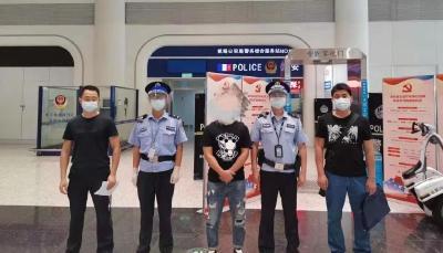 5人涉嫌偷越国边境主动来自首了
