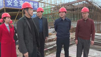罗联峰:高标准 高质量 加快推进民生及交运城建重点项目建设