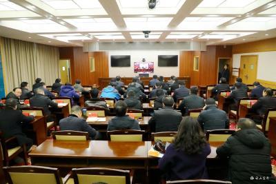 我市组织收听收看宜昌市第四次全国经济普查工作推进视频会
