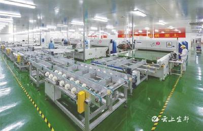 宜都高新技术产业园区:聚焦产业升级 积蓄发展动能