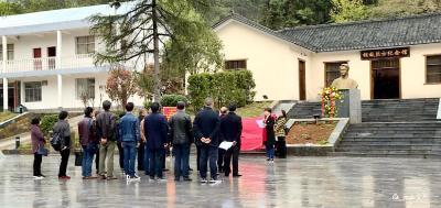 【宜都党建】市委党校在胡敌故里开展主题党日活动