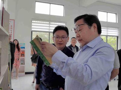省档案局副局长马尚云来我市调研乡村建档工作