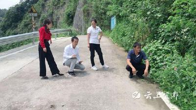 """望佛桥村:为""""富民道路""""做""""体检"""""""