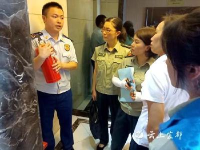 东风社区:排辖区隐患 保社会平安