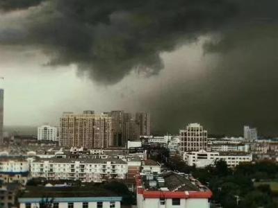 8月11日宜都大风雷雨电力影响快报