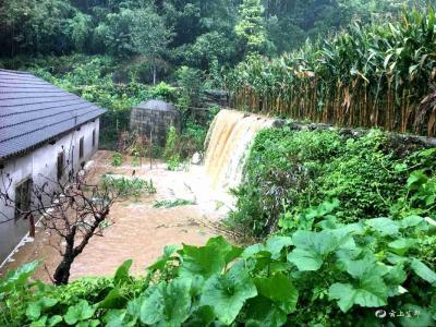 聂家河、五眼泉等乡镇遭受暴雨袭击