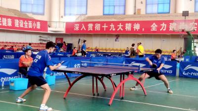 2019年湖北省青年乒乓球锦标赛在我市举办
