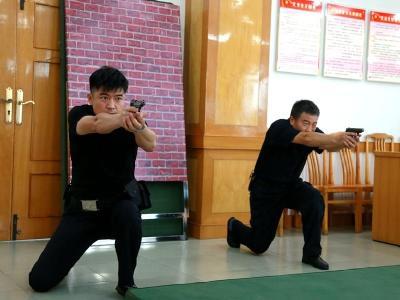 市公安局:强化培训磨利剑实弹射击练精兵