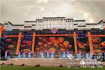 【荆楚网】宜都歌舞剧团亮相2019中国西藏雅砻文化节