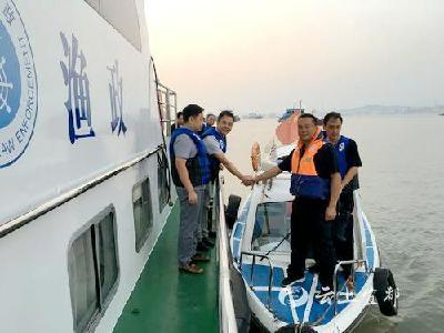宜都枝江两市联合执法 剑指长江非法捕捞