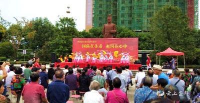 东风社区开展国防教育主题宣传活动