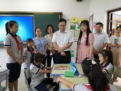【快讯】省委宣传部副部长刘爱国来我市调研